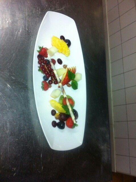 Fruit dish - for those who prefer a lighter dessert