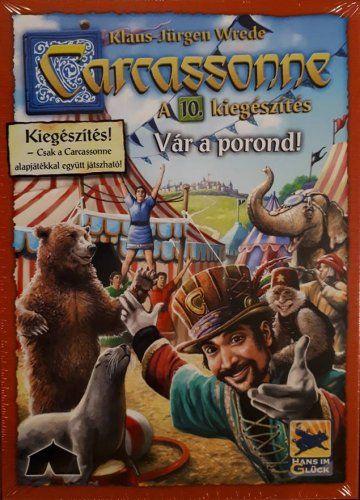 Carcassonne - 10 Vár a porond! társasjáték - Szellemlovas társasjáték webshop