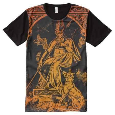FULL FRONT ODIN ART SHIRT - click to get yours right now!