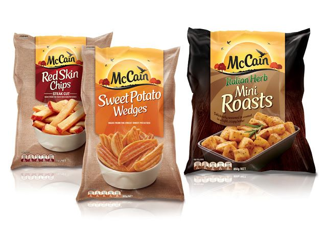 McCain Rebrand on Packaging of the World - Creative Package Design Gallery