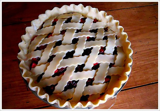 Pies and Bumbleberry pie on Pinterest