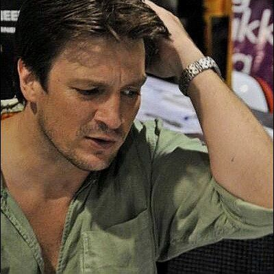 Nathan Fillion promoting Wonder Woman at SDCC 2008
