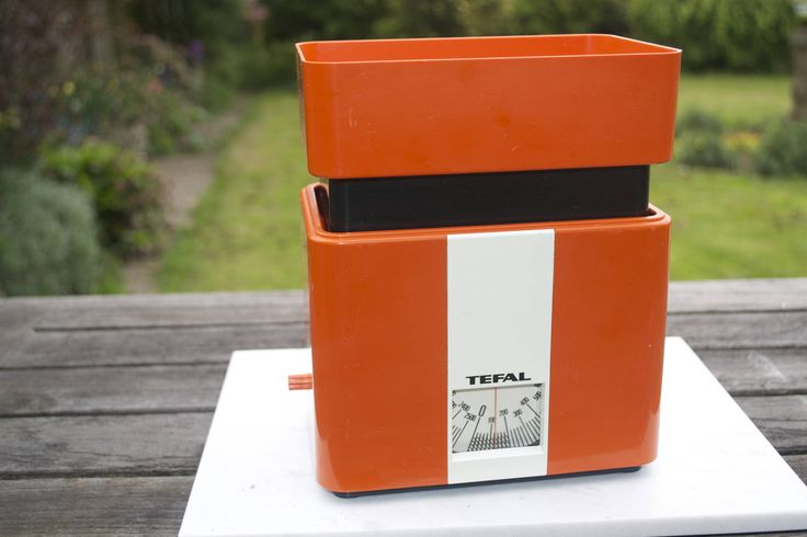 Vintage 1976 Tefal Orange Kitchen Weighing Scales Retro Cool by Triggerstreasure on Etsy