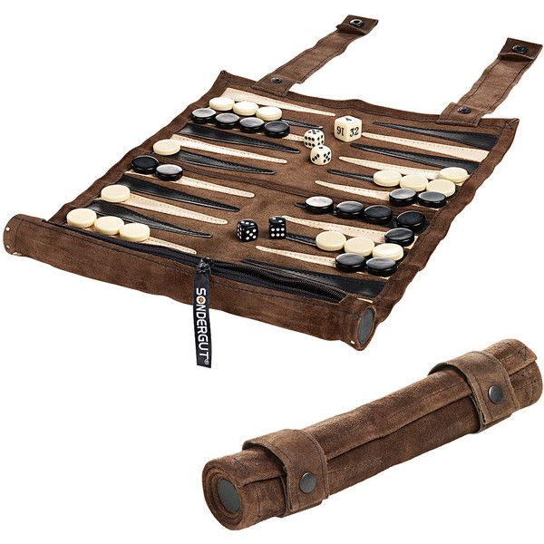 Backgammon found on Polyvore