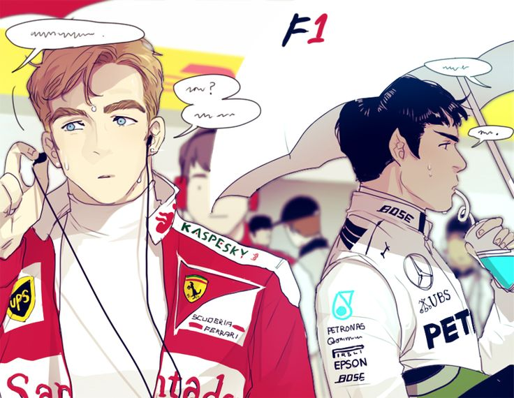 star trek + F1