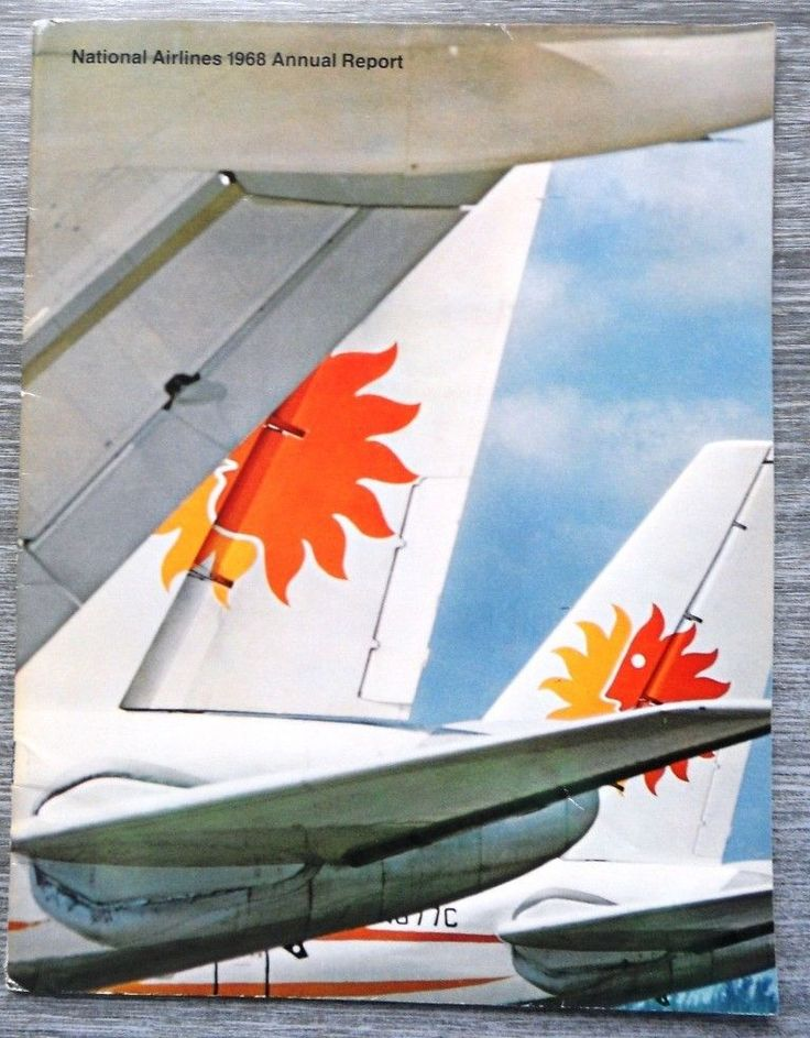 National Airlines Annual Report 1968