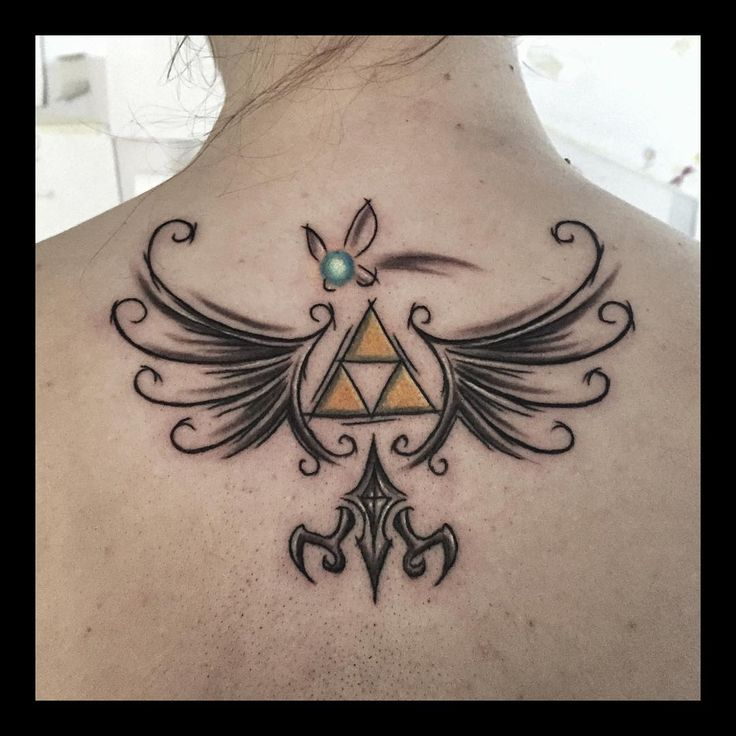 Legend of Zelda tattoo