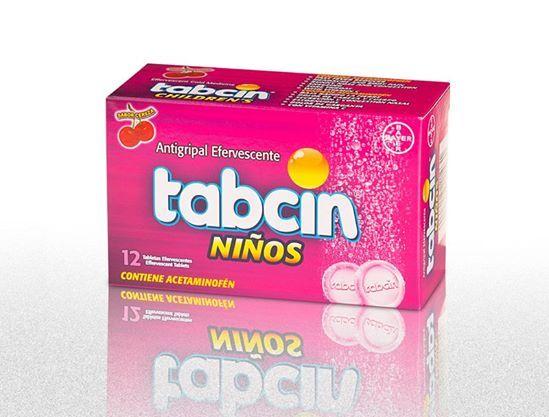 #Insumos_Primeros_Auxilios #Botiquines #Antigripales Tabcin Niños.  Indicado para el alivio de los síntomas comunes del resfriado y la gripe, secreción y congestión nasal, dolor de cabeza, y cuerpo, estornudos, fiebre y dolor de garganta.