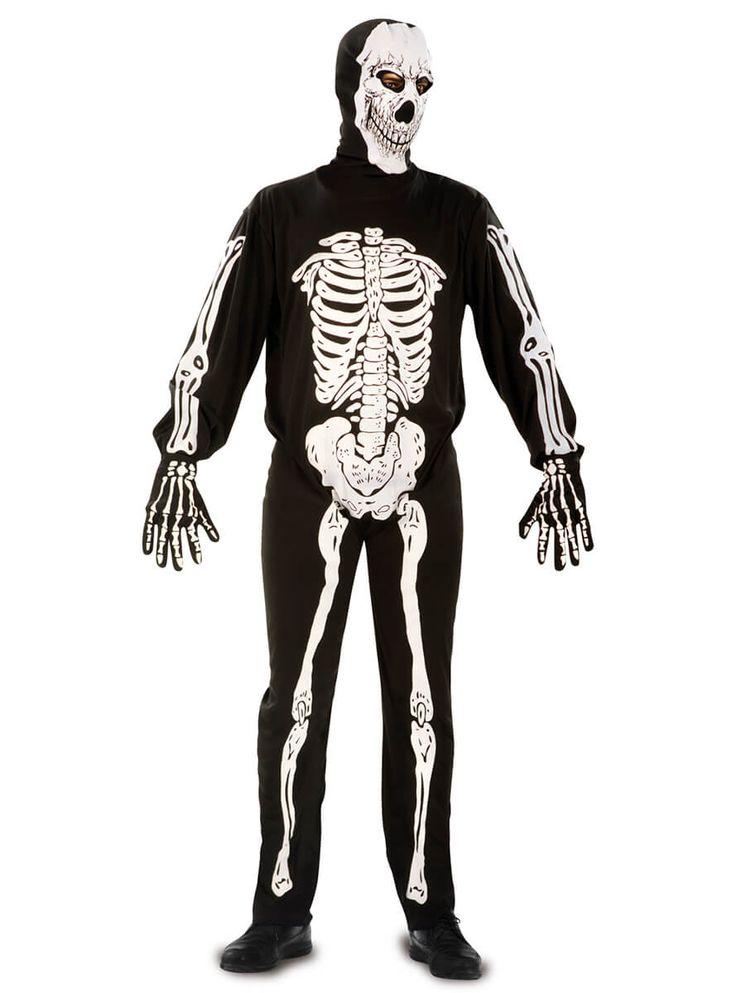 Disfraz de esqueleto sonriente para hombre | Comprar