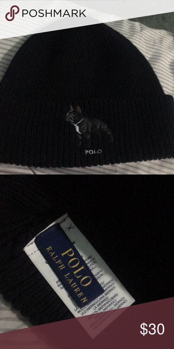 Polo beanie New barely used Polo by Ralph Lauren Accessories Hats