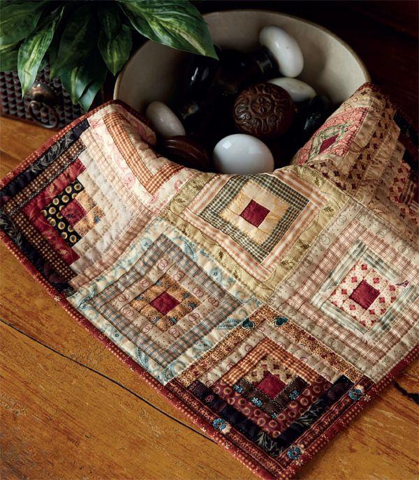 Cabin Corners quilt