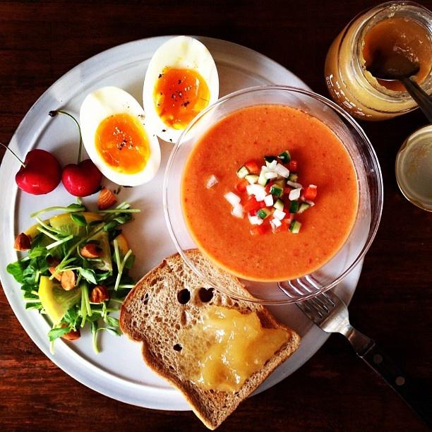 Today's breakfast. - @keiyamazaki   Webstagram