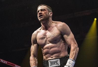 Jake Gyllenhaal puts his new physique for the boxing film 'Southpaw' on display for the first time. ummmmmm mm mm HELLO!!!!