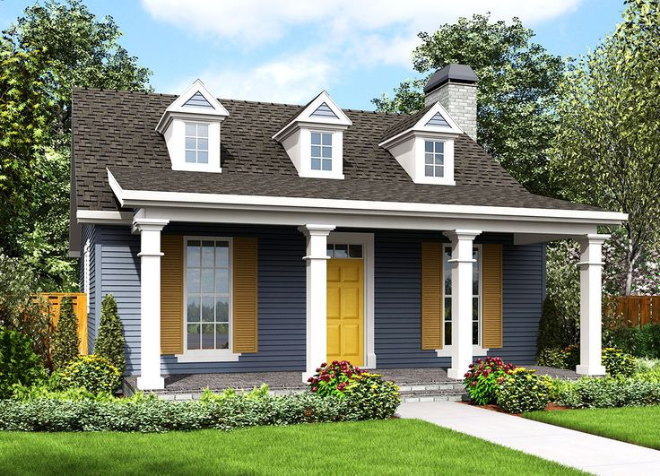 Plan 69638am One Bedroom Guest House Guest Houses Laundry Closet And Bunk Rooms