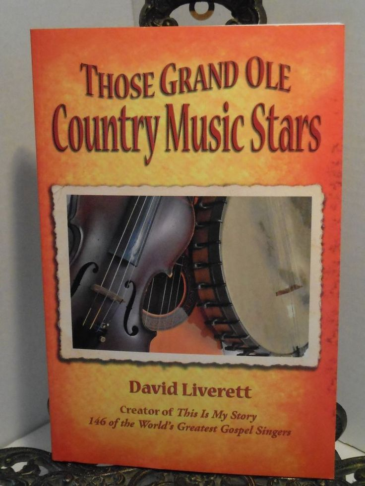 SIGNED The Grand Old Country Music Stars by Artist David Liverett Pointillism