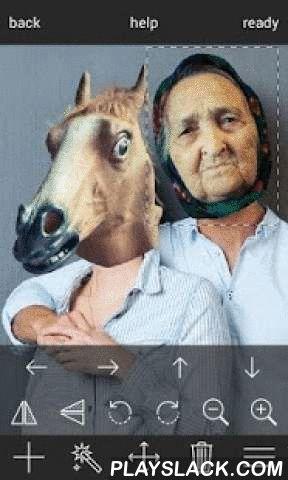 """Scary Face Swap HD  Android App - playslack.com ,  """" Scary Face Swap HD """" is een gratis app waarmee je op een eenvoudige en snelle manier om een gezicht te schakelen in uw fototot een van de 20 gekke , hilarische gezichten als : paard gezicht , katten gezicht , oude man gezicht , ufo , duivel en nog veel meer .Kies foto die u wilt bewerken uit je fotoalbum of maak een foto met je camera .Build - in tutorial legt je in gemakkelijke manier hoe een nieuw gezicht aan uw foto toe te voegen…"""
