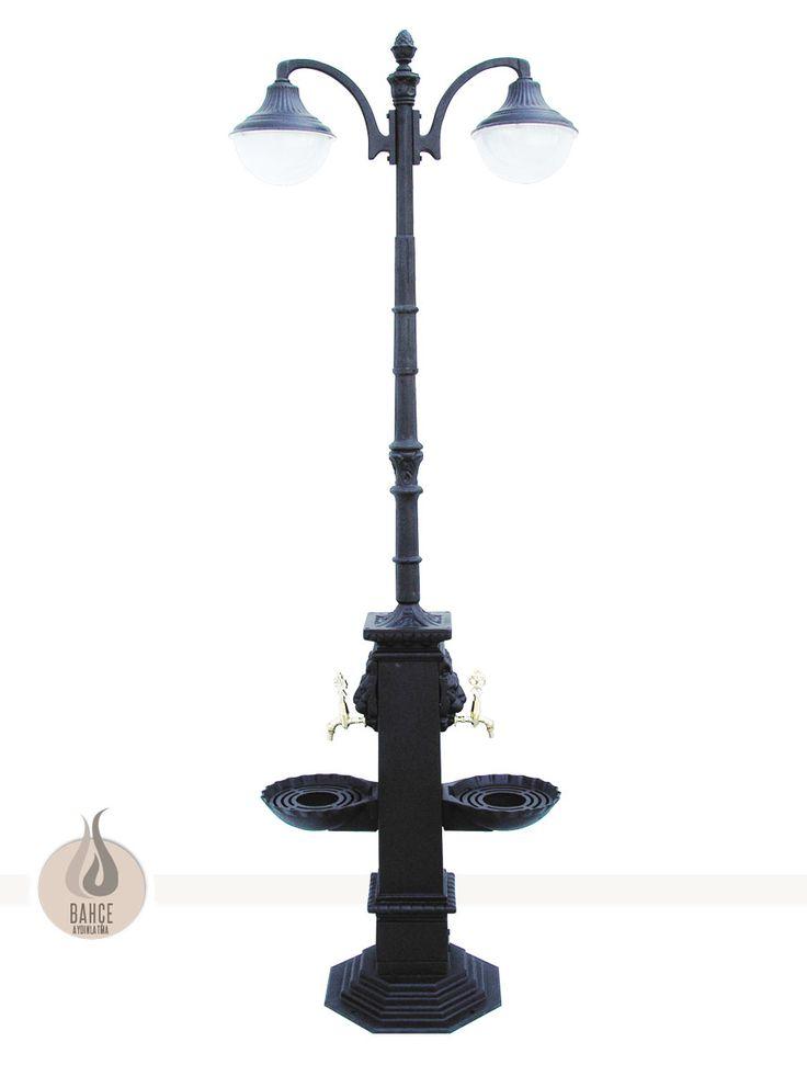 Aydınlatmalı Döküm Çeşme Modeli - BA-093