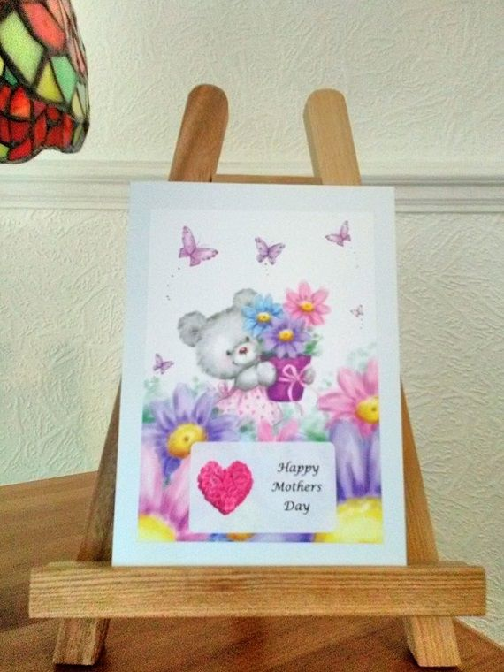 Handmade Mothers Day Card In 2019 Handmade Mothers Day Gifts By