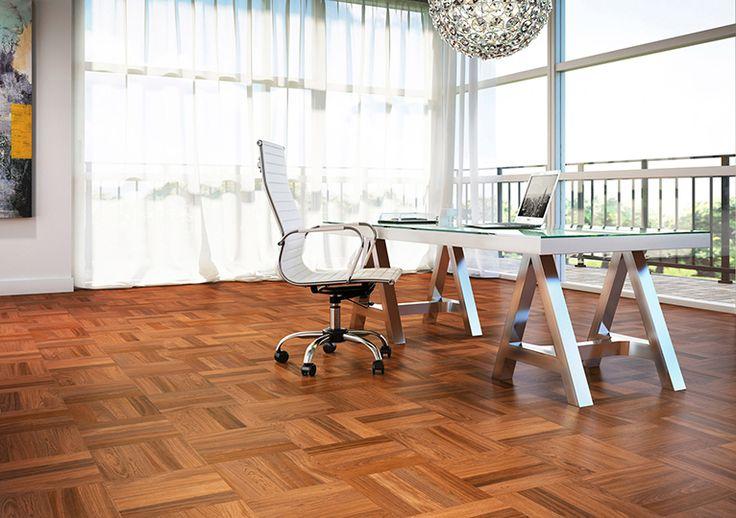 wood floor, brazilian cherry, natural / Planchers de bois franc Cerisier brésilien Couleur : Naturel