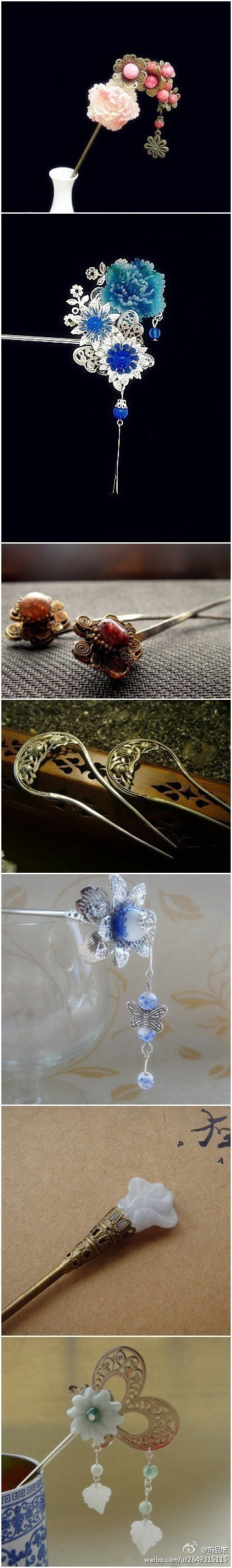 ancient Chinese classical hairpins