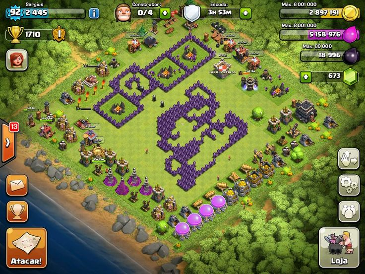 clash of clans builder town hall 7 no barbarian king
