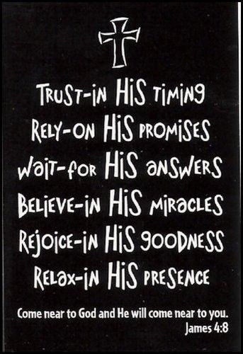 Trust: James Of Arci, The Lord, Daily Reminder, Remember This, Quotes, Christian Life, James 48, James 4 8, Living