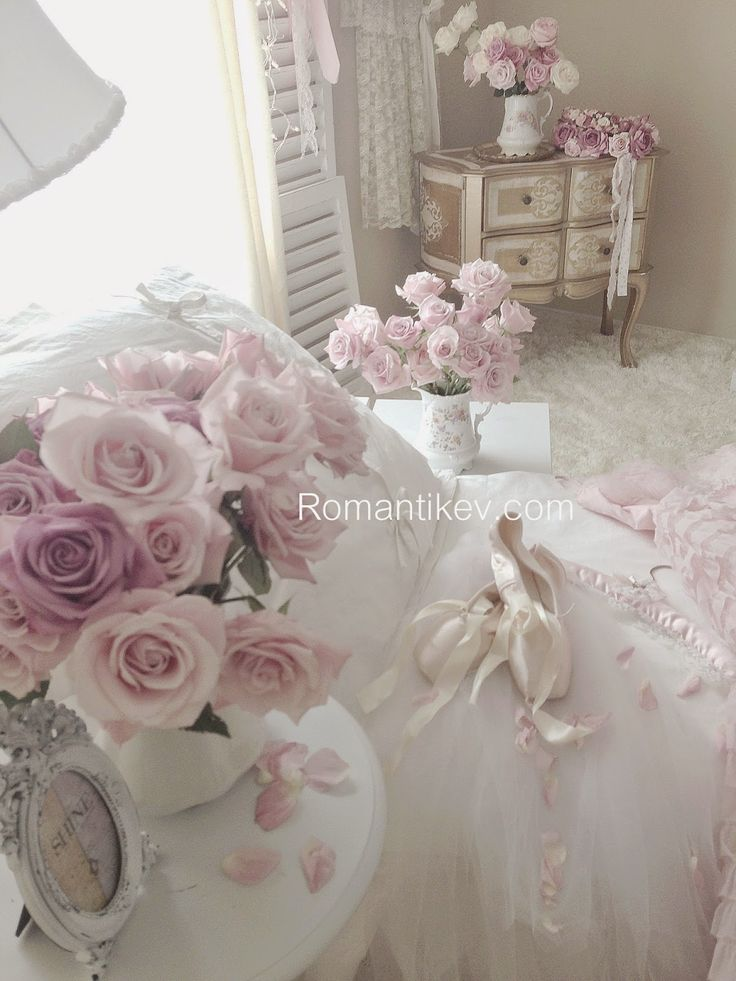 My Shabby Chic Home ~ My Romantic Home ~ Romantic Home: Romance House: Romantic Pink