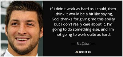 Tim Tebow Quotes ~ Victory Inquiry