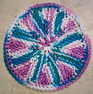 Ravelry: Pinwheel Coaster pattern by Eary Knitting ...
