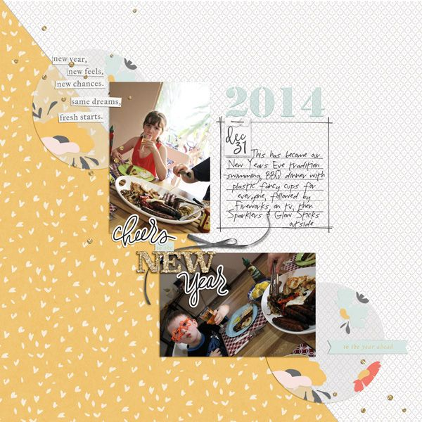 goodbye 2014 by Justine with products from The Lilypad