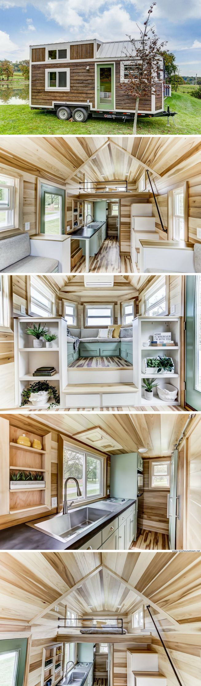 The Point: a 240 sq ft tiny house from Modern Tiny Living