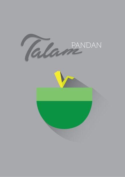 Talam Pandan #flatDesign