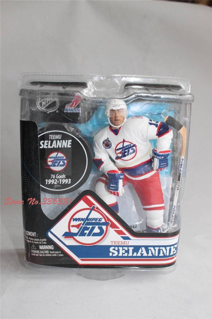 Find More Action & Toy Figures Information about HOT SELL 1 pc free shipping McFarlane TOYS NHL Ice Hockey WINNIPEG JETS TEEMU SELANNE 6'' action figure,High Quality Action & Toy Figures from Black Knight Store on Aliexpress.com
