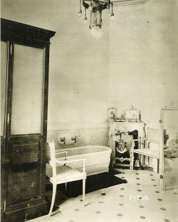San Telmo Palace. Bathroom of the Dukes children. Photo by Antonio Barcia, 1872.