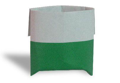 Origami sackt