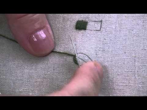 Broderie : Le passé plat - Les petites leçons de Marie Suarez - - YouTube