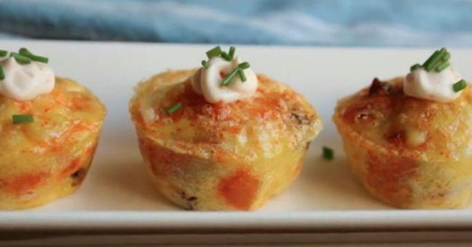 Chorizo Potato Bites Recipe — Dishmaps