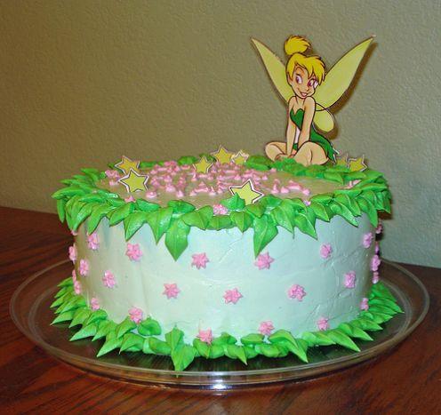 Girl Birthday Party Ideas on Tinkerbell Birthday Cakes For Girls   Birthday Cakes