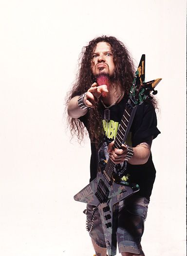 Dimebag Darrel: Can't have a guitarist category without this man..  Pantera..of course