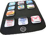 iPad kaart knutselen