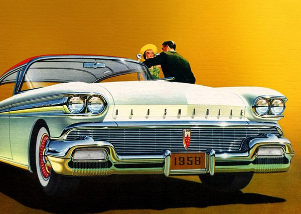 59 Odlsmobile Car Ad