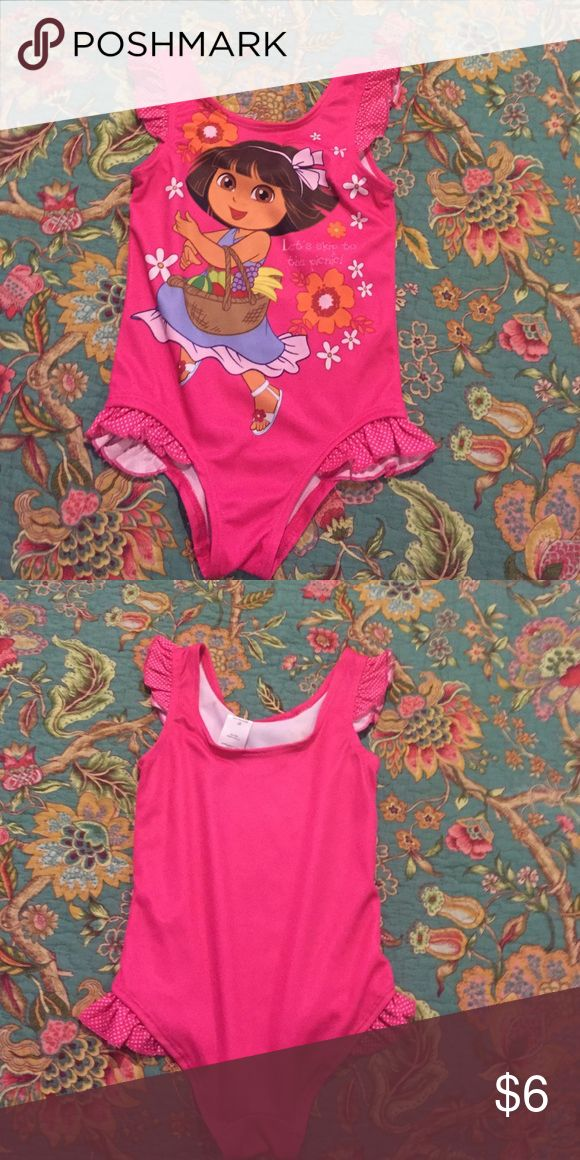 Dora girls swimsuit Never worn! Nickelodeon Swim One Piece