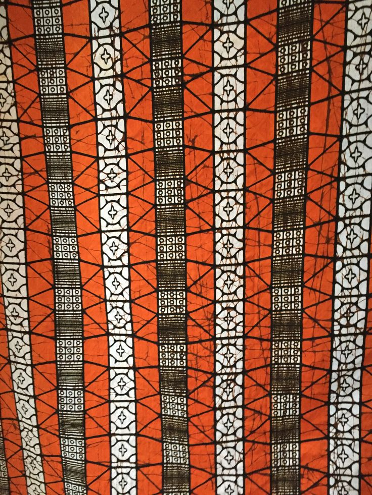 African fabric I came across at the studio of NoC Vienna #Natures_of_Conflict