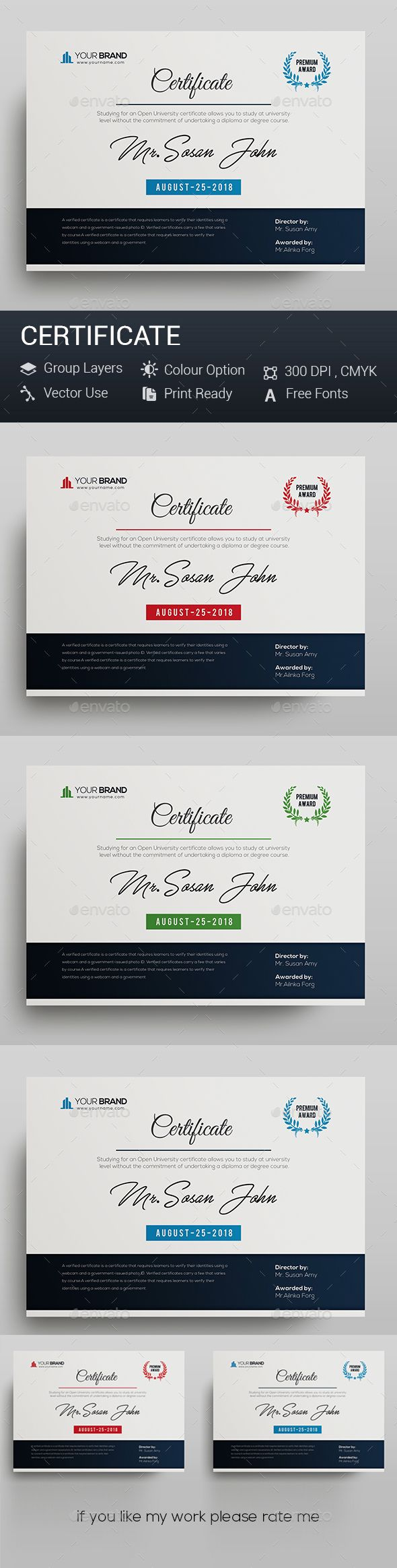 586 best certificate templates images on pinterest certificate certificate template psd xflitez Gallery