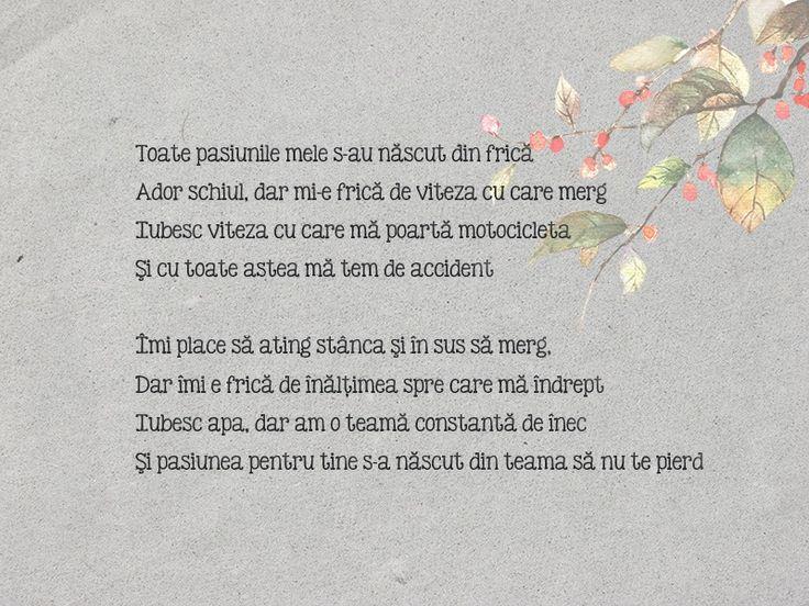19th poem - Teama