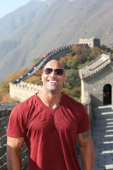 Dwayne Johnson Photos: Cast Of Hercules Visit The Great Wall Of China