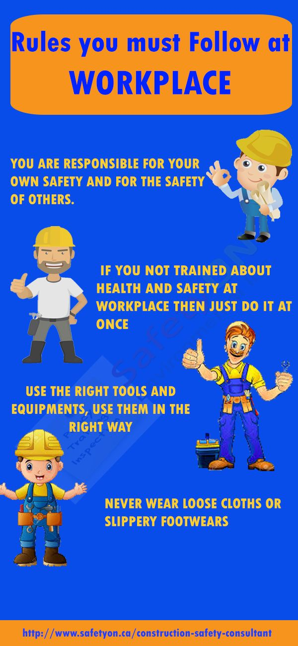Rules every construction worker must follow for their best