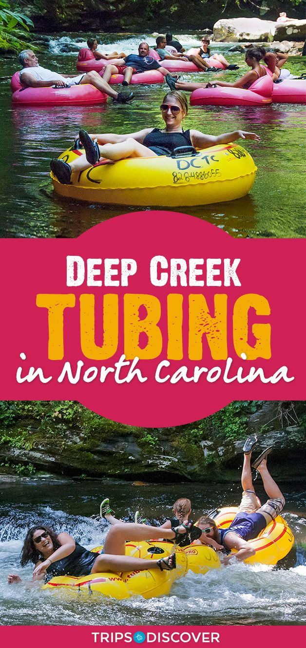 Go Mountain Tubing on a Natural Lazy River in North Carolina