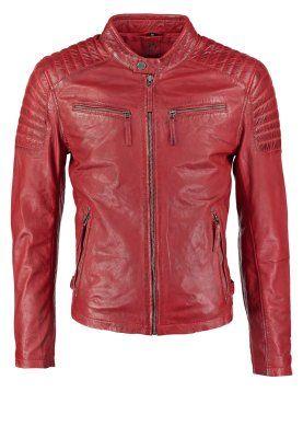 Diese Jacke fällt auf! Gipsy CHESTER - Lederjacke - rot für 199,95 € (04.12.15) versandkostenfrei bei Zalando bestellen.