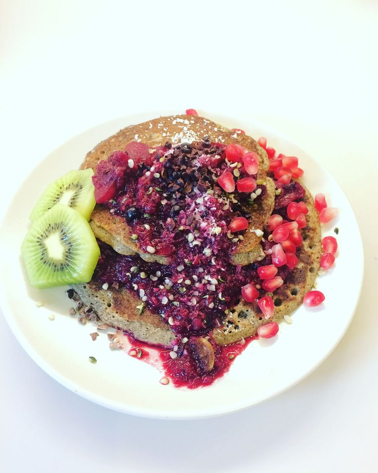 glutenfreie und vegane Pancakes